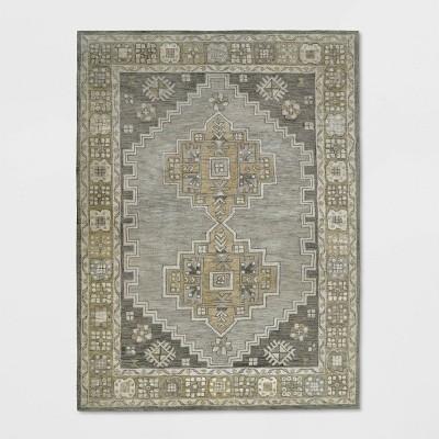 Persian Geometric Tufted Rug Area Tan - Threshold™