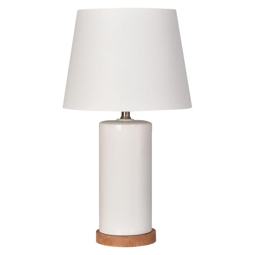 Column Table Lamp White (Includes Cfl bulb) - Pillowfort, Campanula White