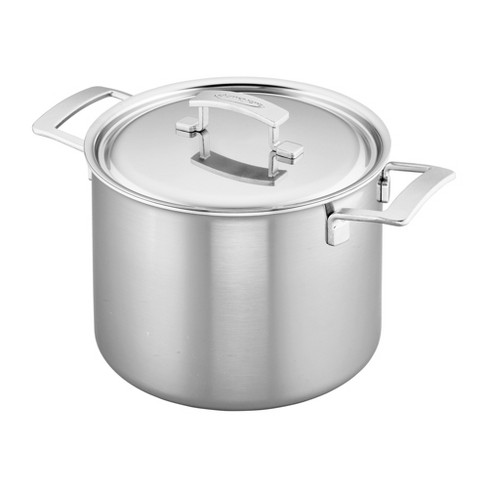 Demeyere Industry 5-Ply 8-qt Stainless Steel Stock Pot - image 1 of 4