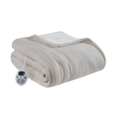 Serta Fleece to Sherpa Electric Bed Blanket