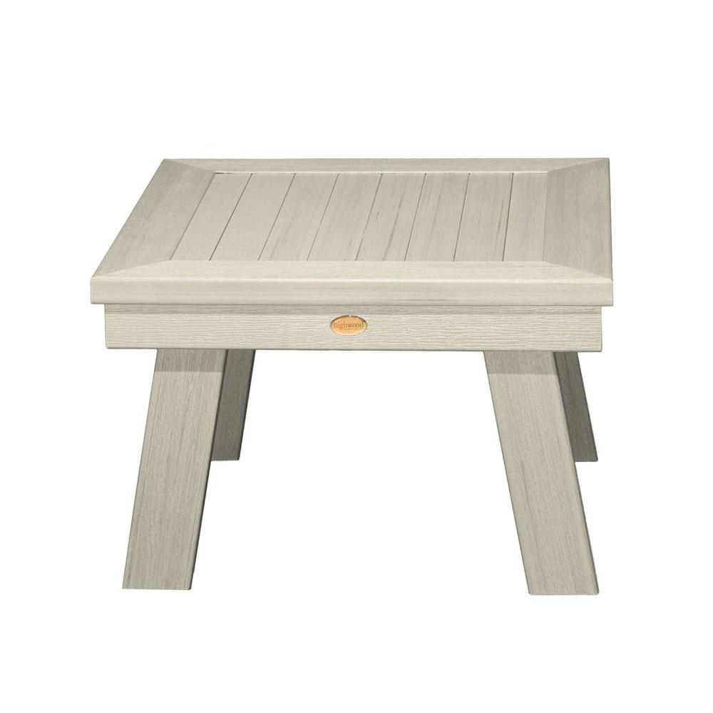 Adirondack Side Table Whitewash - Highwood, Off White