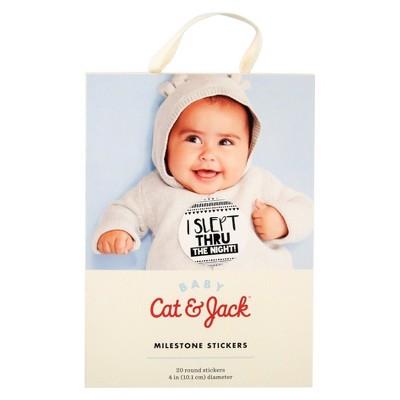 Baby Milestone Sticker Set - Cat & Jack™
