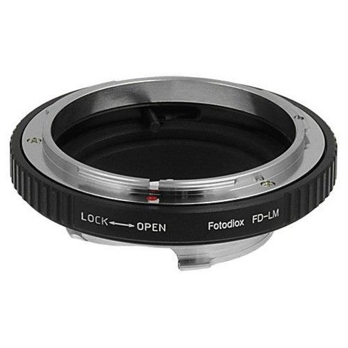 Fotodiox Mount Adapter with Built-In Iris Control for Canon FD Lens to Leica M-Series Camera - image 1 of 4