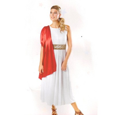 Northlight Women's White and Red Egyptian Halloween Costume- M