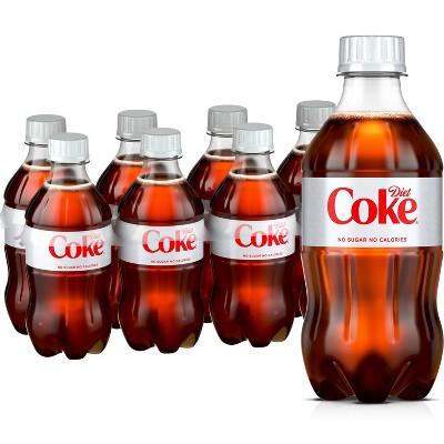 Diet Coke - 8pk/12 fl oz Bottles