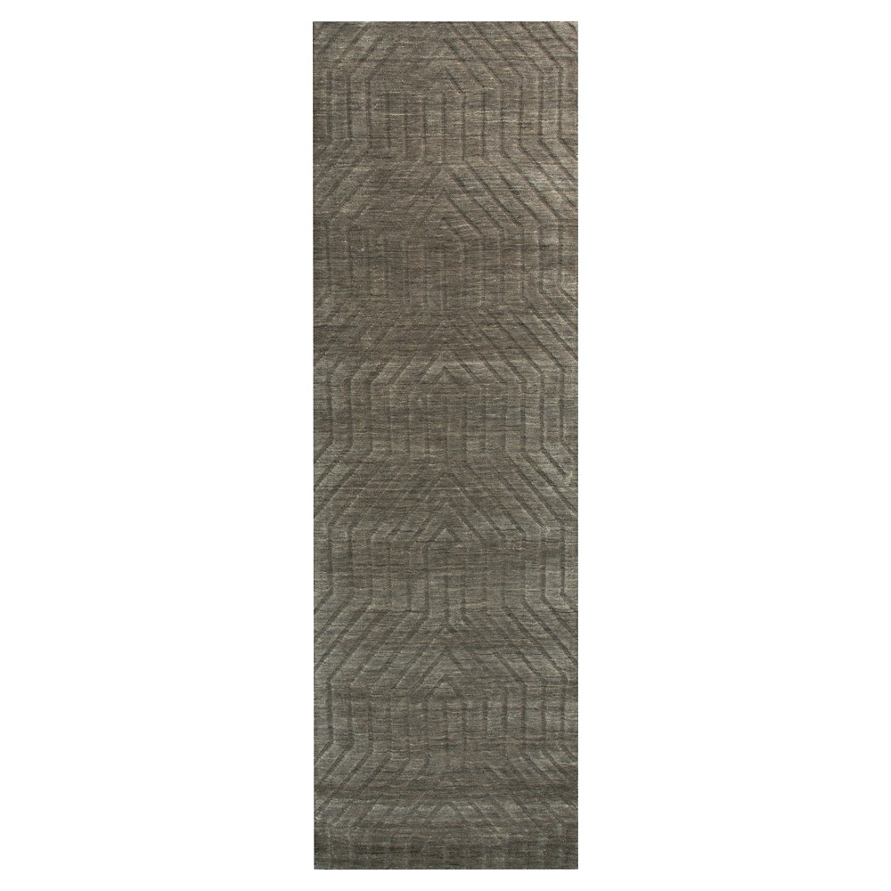 "Image of ""2'6""""X8' Solid Runner Soft Taupe - Rizzy Home, Size: 2'6""""X8' RUNNER, Soft Brown"""