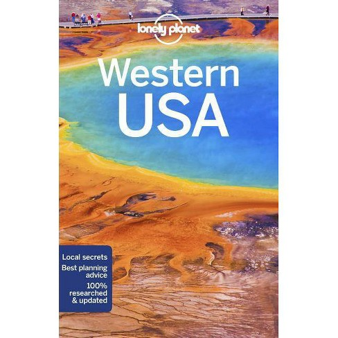 Lonely Planet Western USA - (Travel Guide) 4 Edition (Paperback) - image 1 of 1