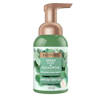 Beloved Green Clay & Eucalyptus Foaming Hand Wash Soap - 8 fl oz