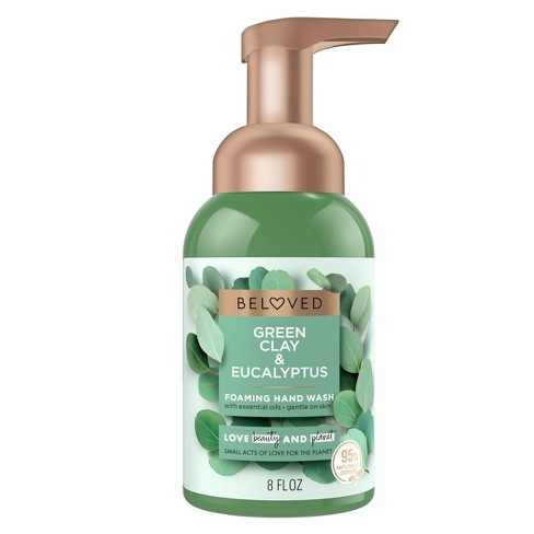 Beloved Green Clay & Eucalyptus Foaming Hand Wash Soap - 8 fl oz - image 1 of 4