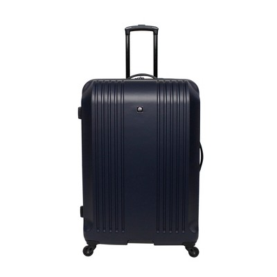 Skyline 28  Hardside Spinner Check In Suitcase - Blue