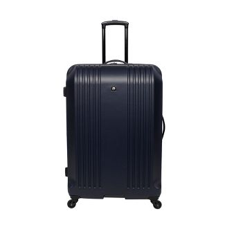 "Skyline 28"" Hardside Spinner Check In Suitcase - Blue"