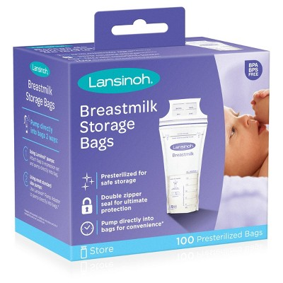 Lansinoh Milk Storage Bag - 100ct