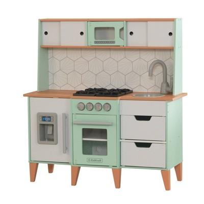 KidKraft McKinney Toddler Mid-Century Modern Play Kitchen