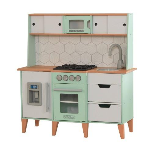 Kidkraft Mckinney Vintage Luxe Toddler Play Kitchen Target