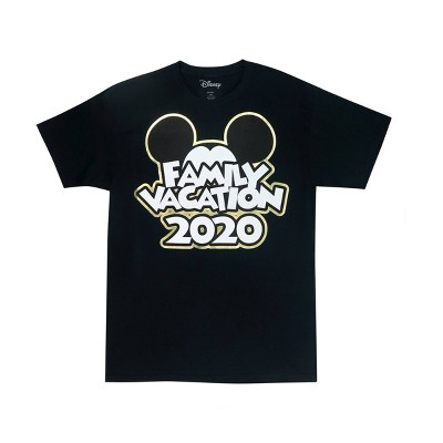 "Kids' Mickey ""Family Vacation 2020"" T-Shirt - Disney ™ - Black"
