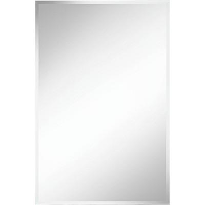 "Noble Park Brix 24"" x 36"" Frameless Rectangle Vanity Wall Mirror"