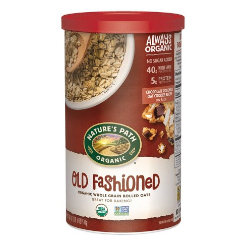 Nature's Path Organic Old Fashioned Oats - 18oz - image 1 of 3