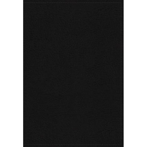 The King James Study Bible, Genuine Leather, Black, Indexed, Full-Color Edition - by  Thomas Nelson - image 1 of 1