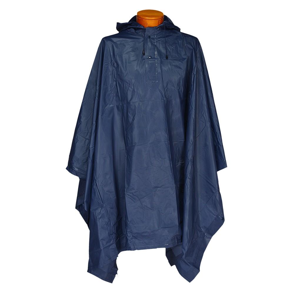 Futai Hooded Rescue Poncho Navy (Blue), Adult Unisex