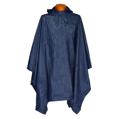 Futai Hooded Rescue Poncho Navy - image 1 of 1