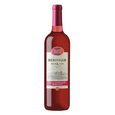 Beringer White Zinfandel Moscato Wine - 750ml Bottle