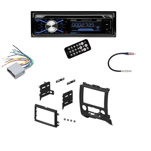 Boss In Dash Car Stereo Audio Receiver + Mounting Kit + Wire ... 16 pin car audio connector diagram Target