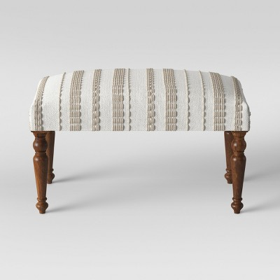Textured Large Ottoman Neutral - Opalhouse™