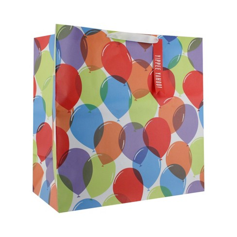 Colorful Balloon Gift Bag - Spritz™ - image 1 of 2