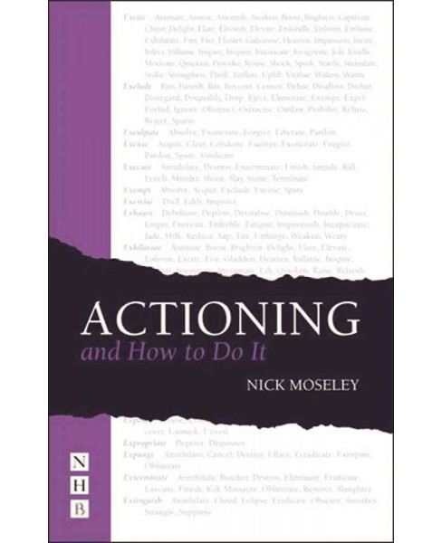 Actioning and How to Do It -  by Nick Moseley (Paperback) - image 1 of 1