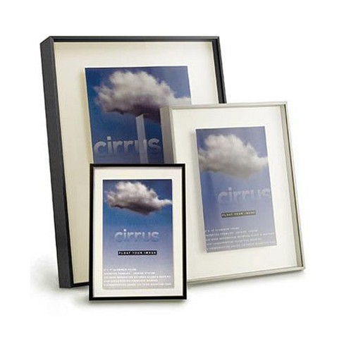 Framatic CirrusAluminum Shadow Box Frame, For a 8 X 16  Photograph, 1/2 Deep Shadow Box, Color: Silver - image 1 of 1