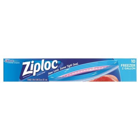Ziploc 2-Gallon Freezer Bags - 10ct - image 1 of 4