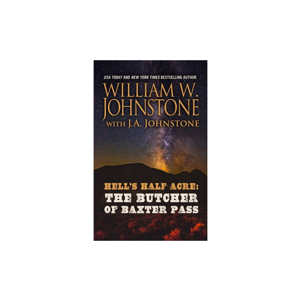 Butcher of Baxter Pass - Lrg (Wheeler Large Print Western) by William W. Johnstone (Paperback)