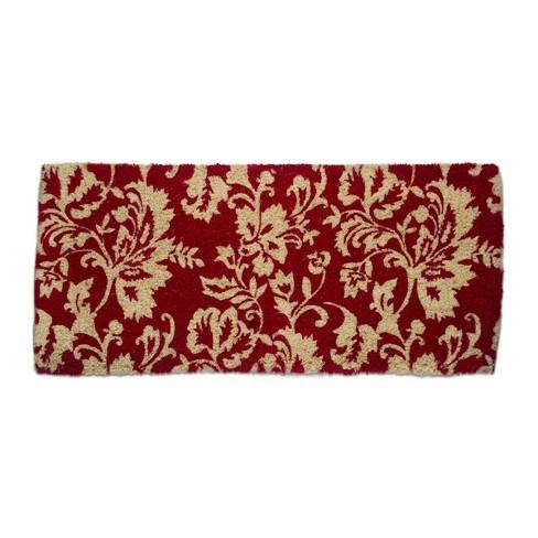 "TAG 1'6"" x 3'3"" Isabella Floral Jacobean Estate Coir Doormat Indoor Outdoor Welcome Mat - image 1 of 3"