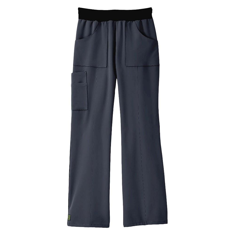 Pacific Ave Scrub Pants Charcoal Medium, Dark Gray