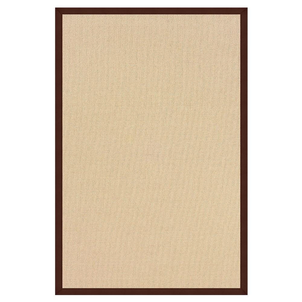 Athena Wool Area Rug - Brown (9'10 X 13')