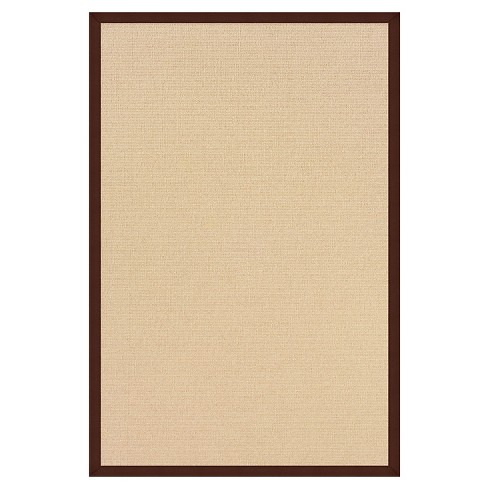 "Athena Wool Area Rug - Brown (9'10"" X 13') - image 1 of 1"