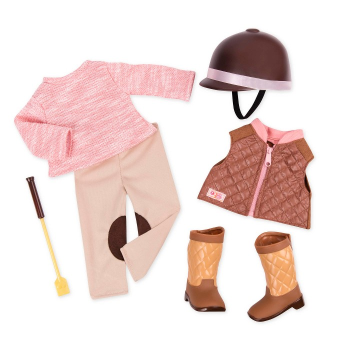Our Generation Deluxe Riding Outfit - Riding in Style - image 1 of 3