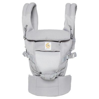 Ergobaby Adapt Ergonomic Multi-Position Cool Air Mesh Baby Carrier - Pearl Gray