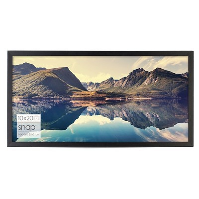Snap 10 x20  Frame - Black