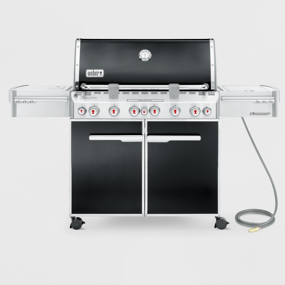 Weber Summit E-670 Natural Gas Grill, Black 14998362