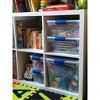 4pk 31qt Modular Latching Clear Storage Bin - Homz - image 4 of 4