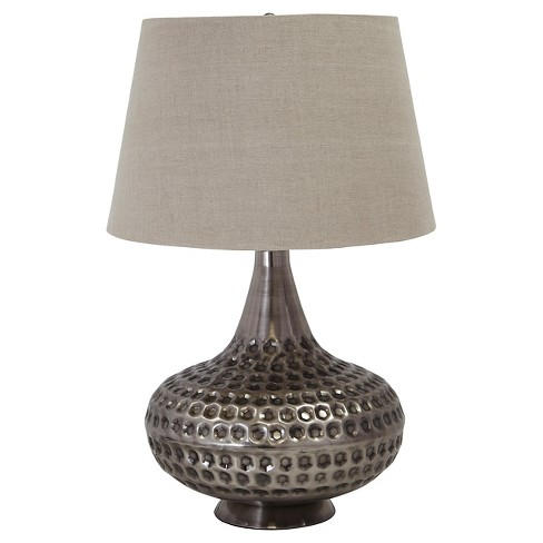 Sarely Table Lamp Pewter Finish - Signature Design by Ashley - image 1 of 2