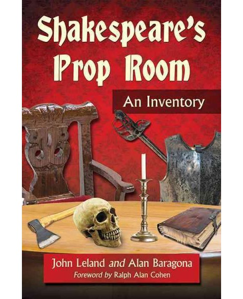Shakespeare's Prop Room : An Inventory (Paperback) (John Leland) - image 1 of 1