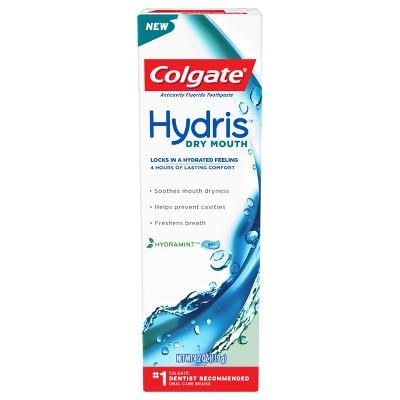Toothpaste: Colgate Hydris