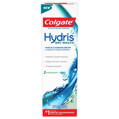 Colgate Hydris Dry Mouth Toothpaste Mint - 4.2oz - image 1 of 5