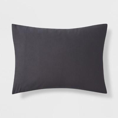 Gray Microfiber Sham (Standard)- Room Essentials™