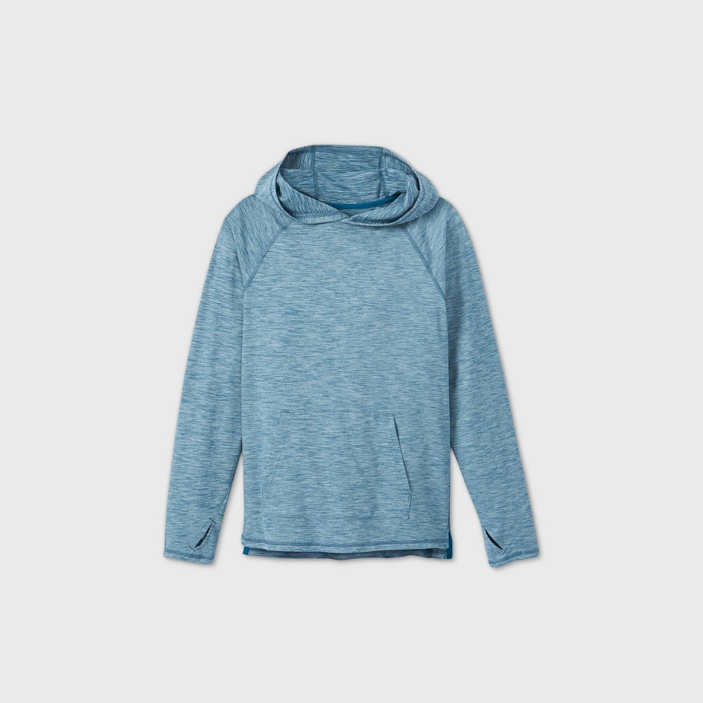 Boys 39 Soft Gym Pullover Hoodie All In Motion 8482 Teal M