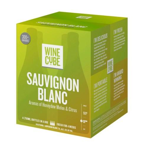 Sauvignon Blanc White Wine - 3L Box - Wine Cube™ - image 1 of 4