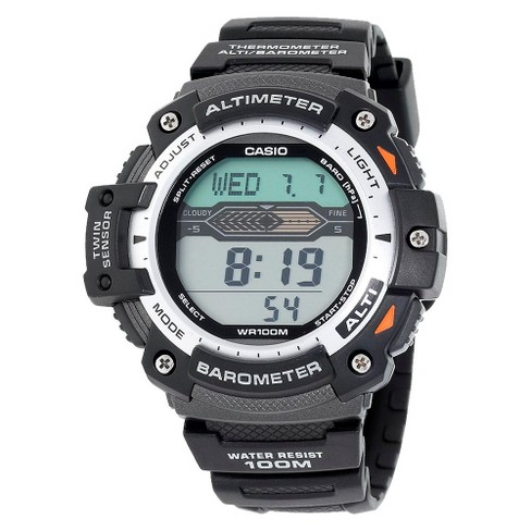 Men's Casio Altimeter Barometer and Thermometer Watch - Black (SGW300H-1AVCF) - image 1 of 3