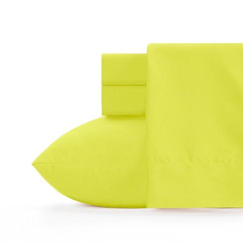 Microfiber Sheet Set Granny Smith Apple Green - Crayola - image 1 of 2